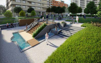 Jak zwiększyć atrakcyjność osiedla? Czas na edukacyjne parki wodne!