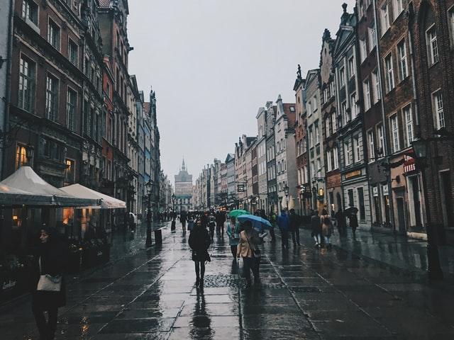 Gdańsk ogrody deszczowe