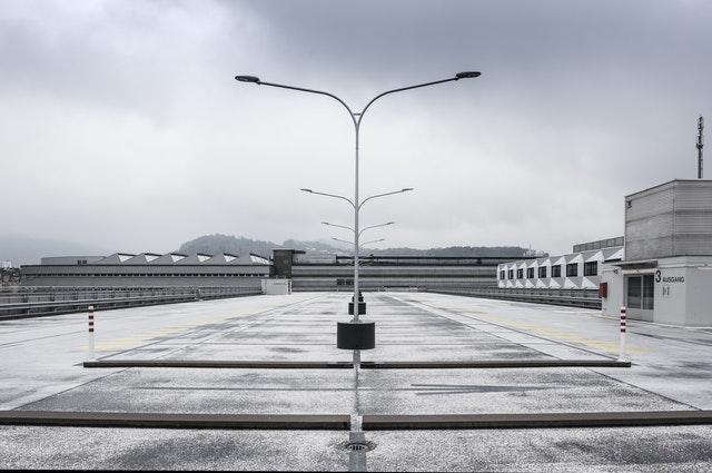 parking separator substancji ropopochodnych deszcz