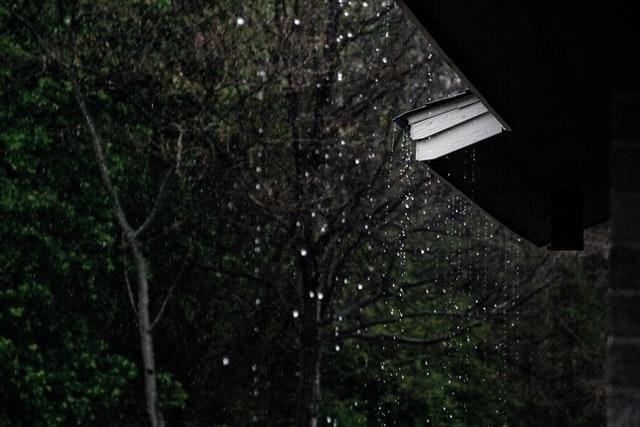 woda deszcz zbiornik retencyjny